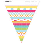 Kaisercraft - Pop Collection - Bunting Shaped Paper Pad
