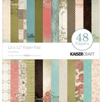Kaisercraft - Generations Collection - 12 x 12 Paper Pad