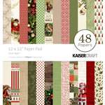 Kaisercraft - Silent Night Collection - Christmas - 12 x 12 Paper Pad