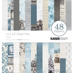 Kaisercraft - Frosted Collection - Christmas - 12 x 12 Paper Pad