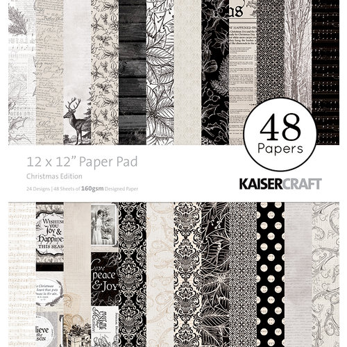 Kaisercraft - Christmas Edition Collection - 12 x 12 Paper Pad