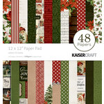 Kaisercraft - Letters to Santa Collection - Christmas - 12 x 12 Paper Pad
