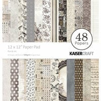Kaisercraft - Pen and Ink Collection - 12 x 12 Paper Pad