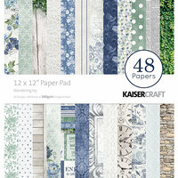 Kaisercraft - Wandering Ivy Collection - 12 x 12 Paper Pad