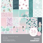Kaisercraft - Mermaids Collection - 12 x 12 Paper Pad with Foil Accents