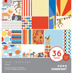 Kaisercraft - Circus Collection - 12 x 12 Paper Pad with Foil Accents