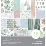 Kaisercraft - Greenhouse Collection - 12 x 12 Paper Pad with Foil Accents