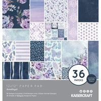 Kaisercraft - Amethyst Collection - 12 x 12 Paper Pad