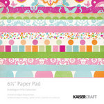 Kaisercraft - Bubblegum Hills Collection - 6.5 x 6.5 Paper Pad