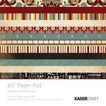 Kaisercraft - Velvet Ensemble Collection - 6.5 x 6.5 Paper Pad