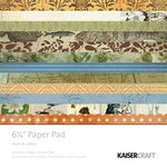 Kaisercraft - Hunt and Gather Collection - 6.5 x 6.5 Paper Pad
