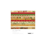 Kaisercraft - December 25th Collection - Christmas - 6.5 x 6.5 Paper Pad