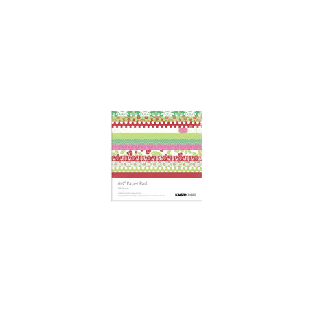 Kaisercraft - Silly Season Collection - Christmas - 6.5 x 6.5 Paper Pad