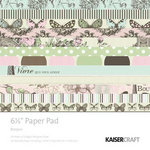 Kaisercraft - Bonjour Collection - 6.5 x 6.5 Paper Pad