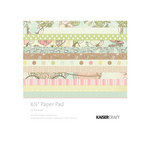 Kaisercraft - Lil' Primrose Collection - 6.5 x 6.5 Paper Pad