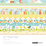 Kaisercraft - Fine and Sunny Collection - 6.5 x 6.5 Paper Pad