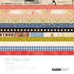 Kaisercraft - Miss Match Collection - 6.5 x 6.5 Paper Pad