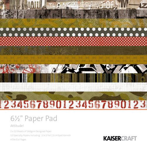Kaisercraft - Attitude! Collection - 6.5 x 6.5 Paper Pad