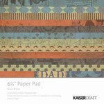 Kaisercraft - Sears and Son Collection - 6.5 x 6.5 Paper Pad