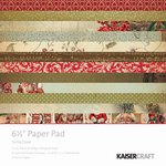 Kaisercraft - Turtle Dove Collection - Christmas - 6.5 x 6.5 Paper Pad