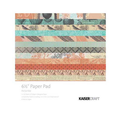 Kaisercraft - Periwinkle Collection - 6.5 x 6.5 Paper Pad