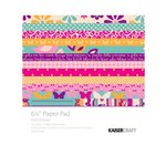 Kaisercraft - Butterfly Kisses Collection - 6.5 x 6.5 Paper Pad