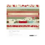 Kaisercraft - Just Believe Collection - Christmas - 6.5 x 6.5 Paper Pad