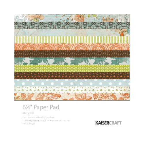 Kaisercraft - Marigold Collection - 6.5 x 6.5 Paper Pad