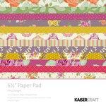 Kaisercraft - Flora Delight Collection - 6.5 x 6.5 Paper Pad