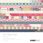 Kaisercraft - Lulu and Roy Collection - 6.5 x 6.5 Paper Pad
