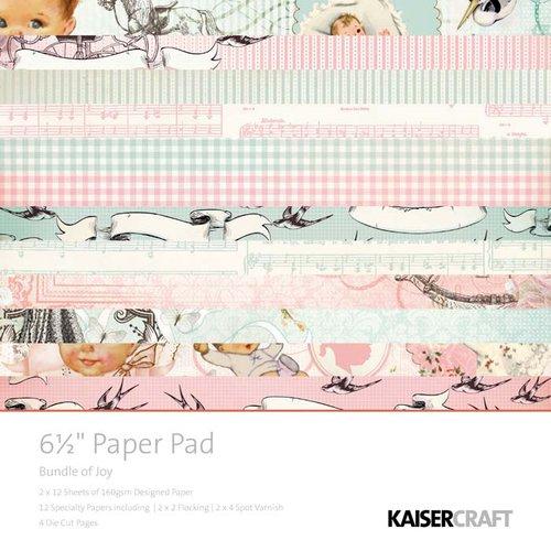 Kaisercraft - Bundle of Joy Collection - 6.5 x 6.5 Paper Pad
