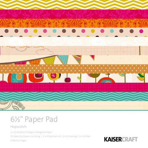 Kaisercraft - Hopscotch Collection - 6.5 x 6.5 Paper Pad