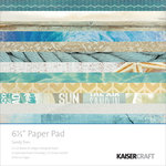 Kaisercraft - Sandy Toes Collection - 6.5 x 6.5 Paper Pad