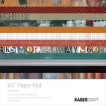 Kaisercraft - Scrap Yard Collection - 6.5 x 6.5 Paper Pad