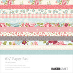 Kaisercraft - Secret Garden Collection - 6.5 x 6.5 Paper Pad