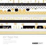 Kaisercraft - A Touch of Gold Collection - 6.5 x 6.5 Paper Pad