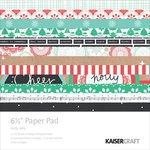 Kaisercraft - Holly Jolly Collection - Christmas - 6.5 x 6.5 Paper Pad