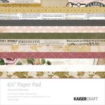 Kaisercraft - Treasured Moments Collection - 6.5 x 6.5 Paper Pad