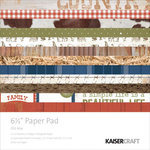 Kaisercraft - Old Mac Collection - 6.5 x 6.5 Paper Pad
