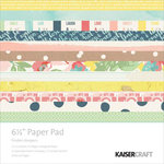 Kaisercraft - Finders Keepers Collection - 6.5 x 6.5 Paper Pad