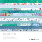 Kaisercraft - Mermaid Tails Collection - 6.5 x 6.5 Paper Pad