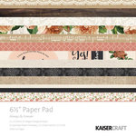 Kaisercraft - Always and Forever Collection - 6.5 x 6.5 Paper Pad