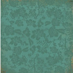 Kaisercraft - Lush Collection - 12 x 12 Paper with Varnish Accents - Ginko
