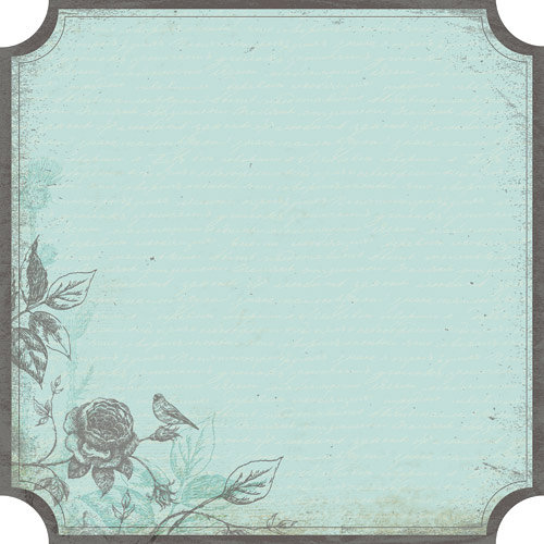 Kaisercraft - Secret Bird Society Collection - 12 x 12 Die Cut Paper - Private