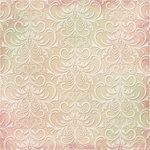 Kaisercraft - English Rose Collection - 12 x 12 Paper with Flocked Accents - Vera