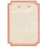 Kaisercraft - Nan's Favourites Collection - 8.5 x 11 Die Cut Paper - Jam Drop