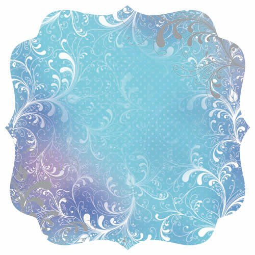 Kaisercraft - Magic Happens Collection - 12 x 12 Die Cut Paper with Foil Accents - Saphire