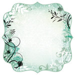 Kaisercraft - Chapter One Collection - 12 x 12 Die Cut Paper with Varnish Accents - Experience