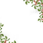 Kaisercraft - 12 x 12 Acetate Overlay - Holly