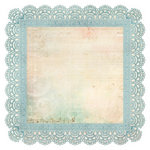 Kaisercraft - Sweet Nothings Collection - 12 x 12 Die Cut Paper - Memories